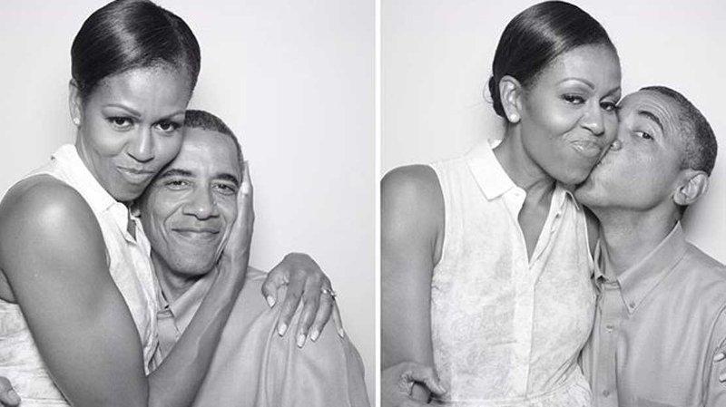 Barack og Michelle Obama