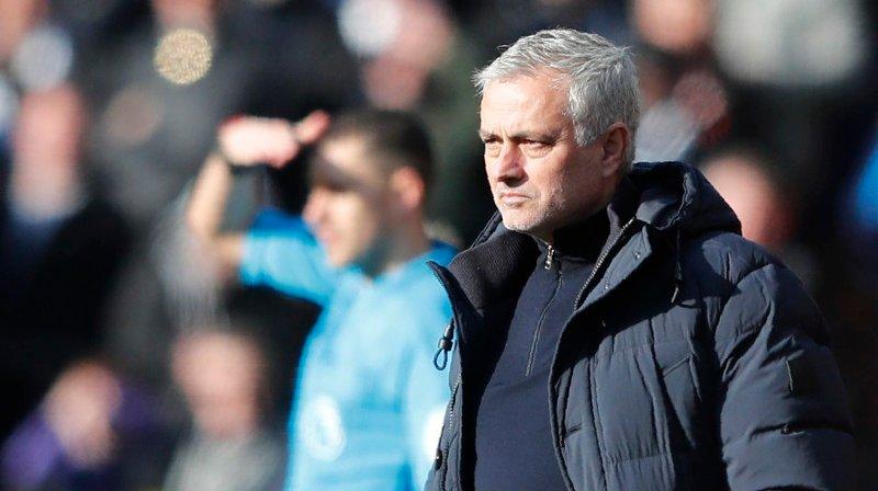 NY KAMP UTEN SEIER: José Mourinho og hans Tottenham spilte uavgjort mot Watford lørdag.