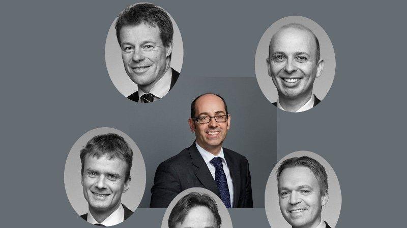 Portrettbilder av de med høyest skattbar inntekt i advokatbransjen.