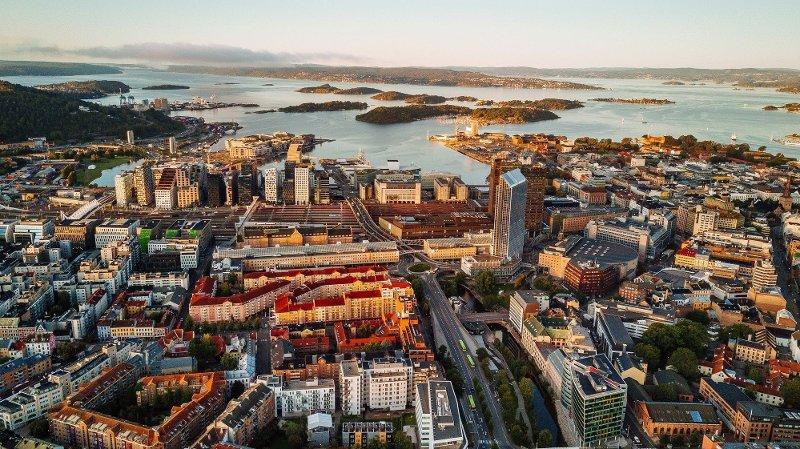 SPÅR PRISPRESS: Selv om det kommer nye boliger blant annet i Bjørvika-området, er ikke dette nok til å demme opp for presset de kommende årene.