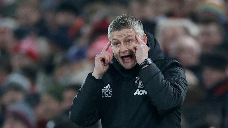 SLÅR TILBAKE: Manchester United-manager Ole Gunnar Solskjær.