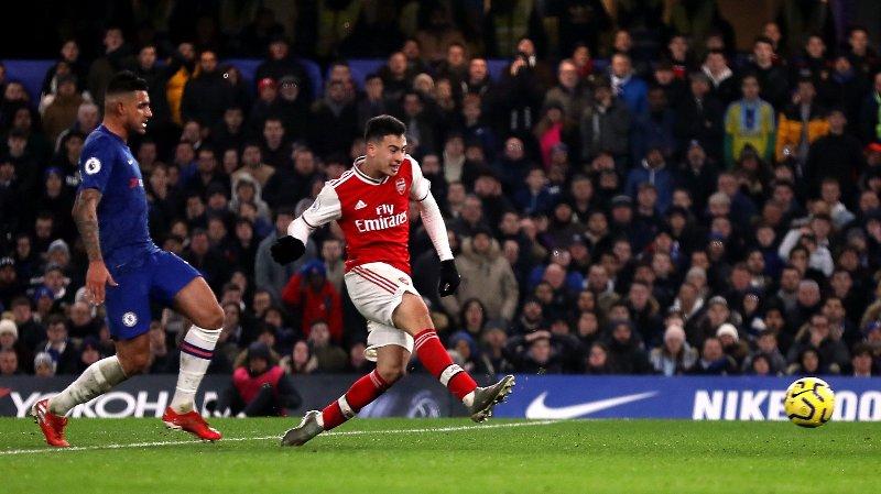 GJENNOMBRUDD: Arsenals Gabriel Martinelli har vært god denne sesongen.