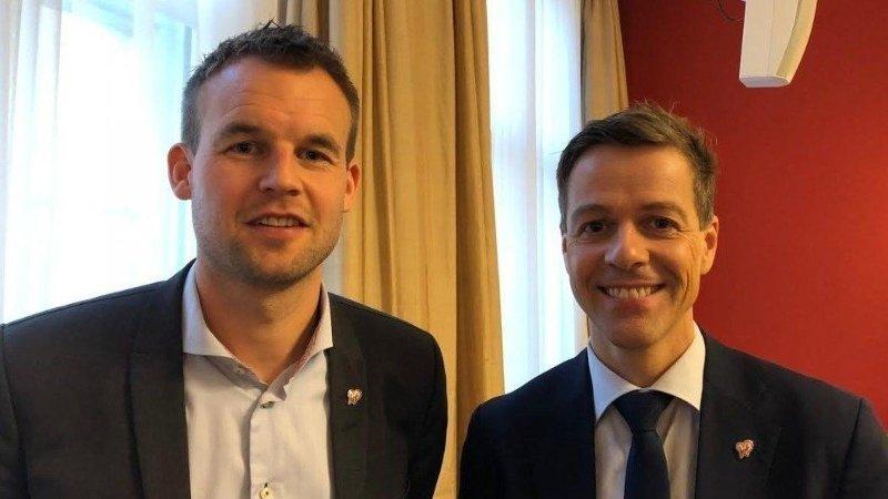 Kjell Ingolf Ropstad Knut Arild Hareide KrF