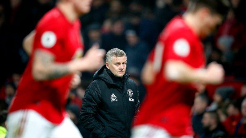 YDMYKET: Ole Gunnar Solskjær og United tapte på hjemmebane mot Burnley.