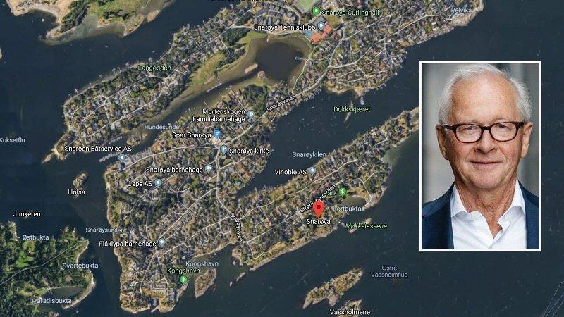 NY REKORD: Tom Elliot Johnsen kan sette ny norsk og nordisk prisrekord på Snarøya. .