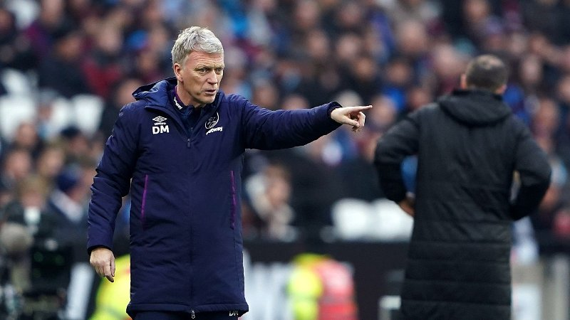 West Ham Uniteds manager David Moyes