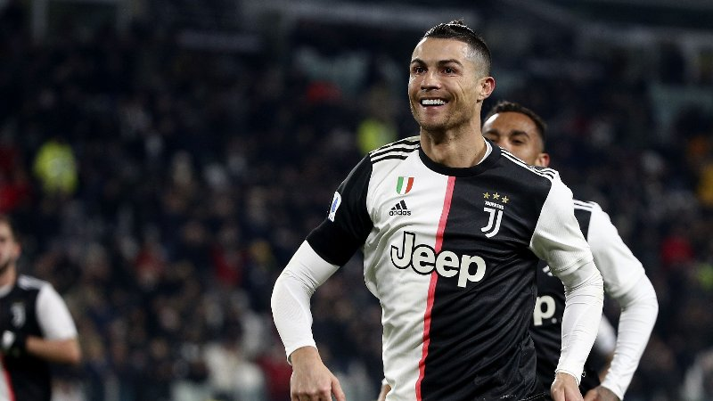 Juventus v Parma - Serie A - Allianz Stadium. CRISTIANO RONALDO CR7 during the Serie A TIM championship 2019-20 JUVENTUS vs PARMA URN:49720337