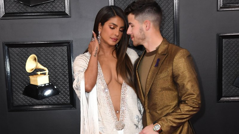 62nd Annual GRAMMY Awards Arrivals Indian actress Priyanka Chopra