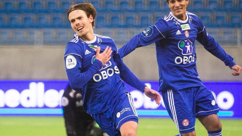 SKIFTER KLUBB: KFUMs Lars Olden Larsen fortsetter karrieren i Mjøndalen.
