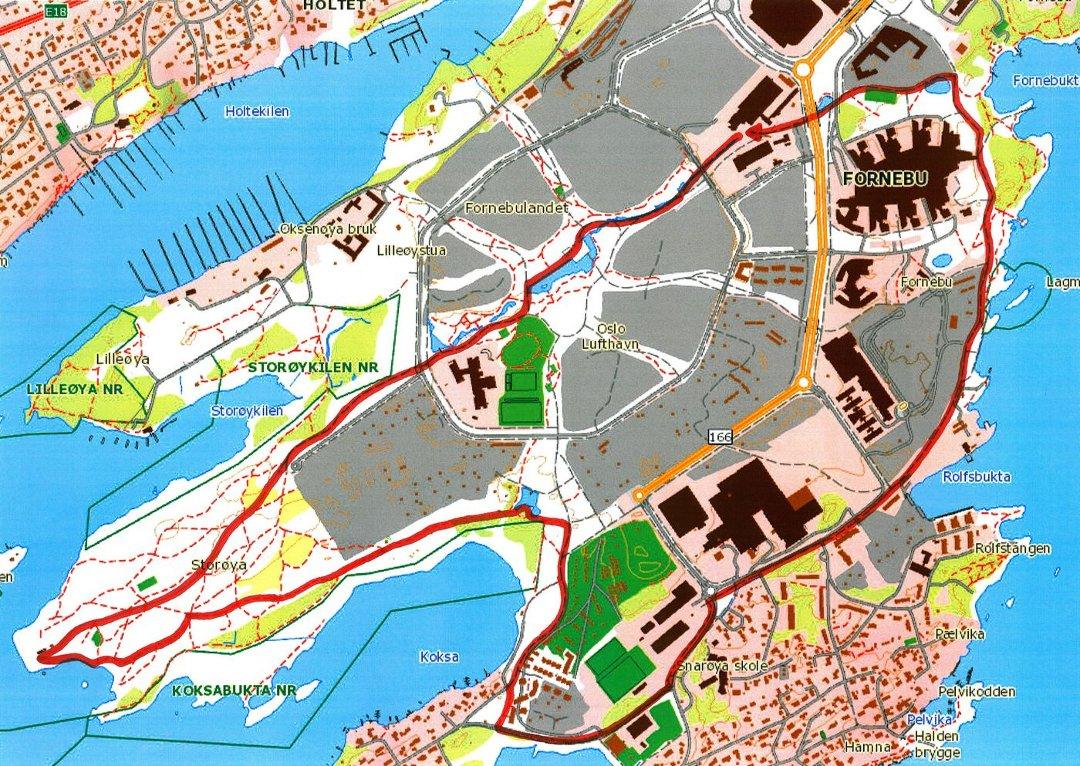 fornebulandet kart Budstikka   Rundtur på Fornebulandet fornebulandet kart