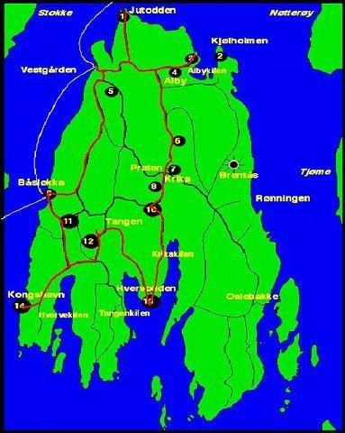 kart veierland Gjengangeren   Sykkeltur på Veierland kart veierland