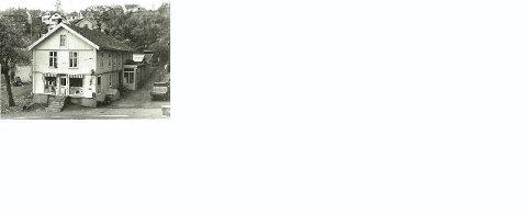 TRYKKERIGÅRDEN: Trykkerigården i Lindtrupbakken 8, hvor O. B. Hansen holdt til i nærmere 100 år.