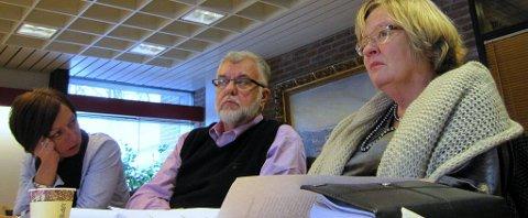 SVs May Hansen (t.h.) mener det vil være en tragedie for Moss om planene ryker.