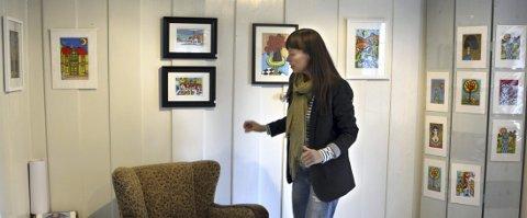 Utstilling: Kreativiteten og skapertrangen til Gry Dørnberg Olsen får utløp gjennom bildene hun lager. Hun omgir seg med farger, og det som gir henne glede.