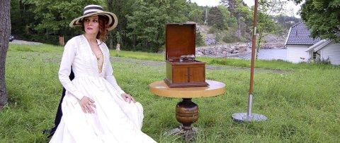 Munch-kjæreste: Fiolinisten Eva Medocci (Ella Fiskum) var en av Munchs kjærester.  alle foto: ole kjeldsberg endresen