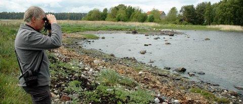 VEALØS: En del av kyststripa på Vealøs blir naturreservat for sjøfugl. Miljøvernsjef Tore Rolf Lund i Horten kommune er opptatt av å ta vare på både fugl og flotte naturområder i kommunen vår. BEGGE FOTO: SIMEN AKER GRIMSRUD