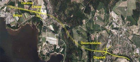 Rv 23 Dagslett - Linnes.