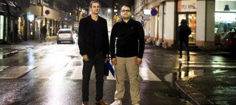 Sergio De Lima Knutsen og Waqas Zaman arbeider med ungdom. Nå skal de lage film om radikalisering.