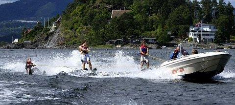 POPULÆRT: Tomm Murstad sjøleir er en populær sommeraktivitet for barn og unge. FOTO: KNUT BJERKE