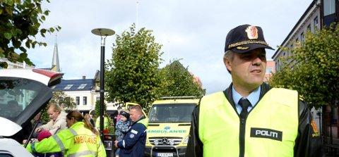 Undersøkte saken: Ordenssjef Per Olav From sier at politiet hadde grunn til å undersøke tipset fra hotellet, men at det ikke kom noe ut av det. Arkivfoto