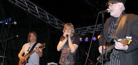 Kommer: Notodden Road Show spiller på Bryggekonserten.