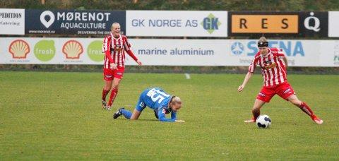 Jenny Norem og resten av Kolbotn fikk det tøft borte mot Avaldsnes.