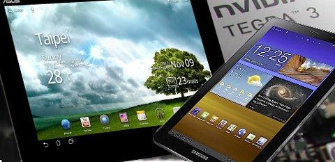 Flere nettbrett enn Apples iPad vil slåss om oppmerksomheten i 2012.