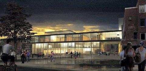Hamar kulturhus åpner helgen 14.–16. mars.
