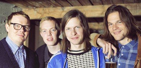 BLANT DE YNGRE: Bandet Kråkesølv representerer den yngre generasjonen norskspråklige artister. PRESSEFOTO