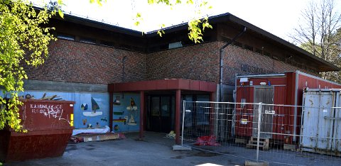 På Rødsmyra skole, hvor det arbeides, har det vært innbrudd i natt.