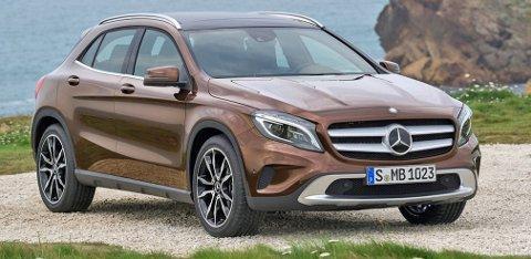 I mars er den her: Nye Mercedes GLA har allerede fått kjemperespons i markedet.