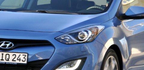 Hyundai i30 har alt du forventer av en ny og moderne bil.