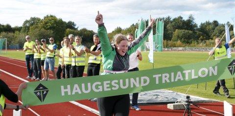 Noe for deg? Haugesund Triatlon innfører en egen stafett-konkurranse for både ungdom og voksne. ¬ Foto: Alfred Aase ¬