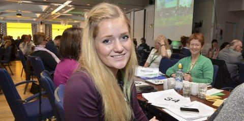 BEKYMRET: Hedmark Senterungdoms leder Emilie Enger Mehl er bekymret på vegne av landbruket.