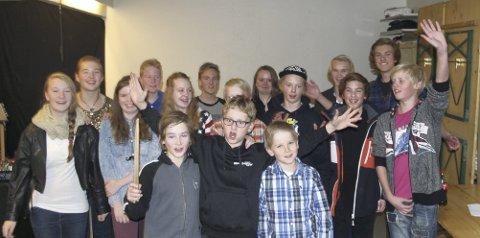 Rockere jubler: Rockeskolen i Lismarka gis stadig større oppmerksomhet. Nå kan de juble for 520.000 til nye øvingslokaler.