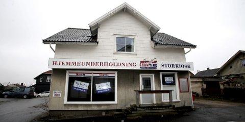 Siste rest: Showtime-butikken på Sellebakk er stengt og ligger ute for salg. På rekordtid gikk det fysiske videoutleie-markedet under. En æra er over.