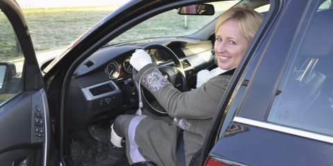 Legg ut: – Legg ut et bilde eller tekst med #trygtfremme etter en kjøretur, oppfordrer Marianne Mittet Solbraa. Arkivfoto
