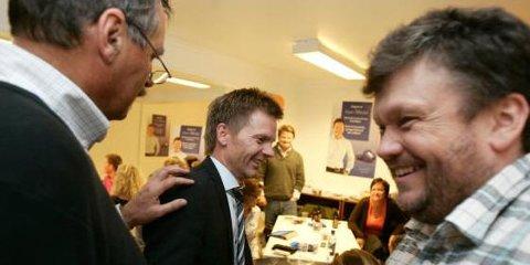 Tage Pettersen gråt av glede da det gikk opp for ham at han hadde sikret seg ordførervervet.