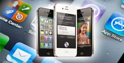 Mange av de beste appene kommer først til iPhone.