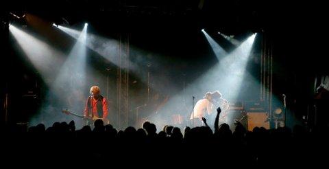Trekkplaster: Dum Dum Boys var trekkplasteret under Oktober Rock. Foto: Alfred Aase