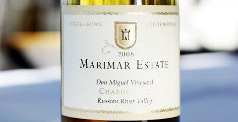 Marimar Estate, Don Miguel vineyard Chardonnay 2008.