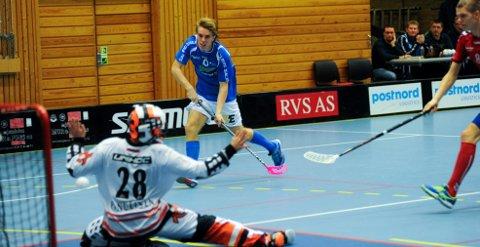 Jørgen Ripel fyrte løs og scoret et viktig mål for NOR