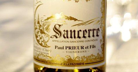 Sancerre, Paul Prieur 2010 (best. nr. 5765001, kr.175,90, bestillingsutvalg)