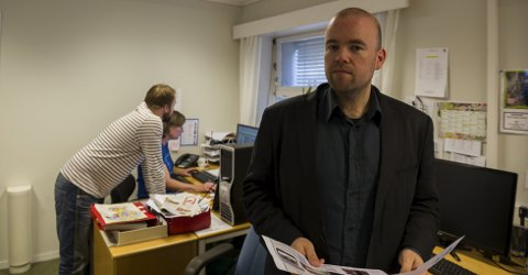 Uenig: Arno Mong Daastøl er ikke enig i Tom Martin Hartviksens leder i  KV lørdag 14. juni. Foto: Ole Haagenrud