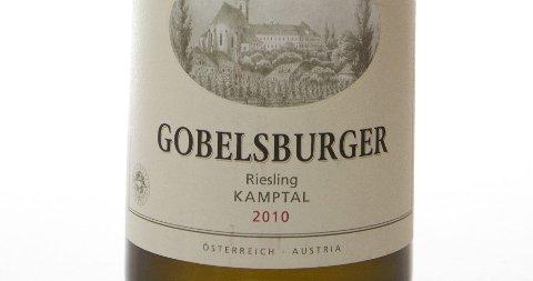 Gobelsburger Riesling 2010. Østerrike (Kamptal). Nr. 9601501. Kr 120,70.