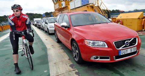 Først i Volvo-køen: V70.