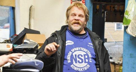 KJAPP FEIRING: Leif Arne Rolfstad tar gjerne en god pepperbiff sammen med familien julaften. FOTO: STIG ODENRUD