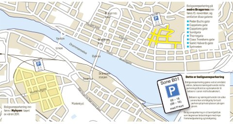 Drammens Tidende Her Blir Det Boligsoneparkering