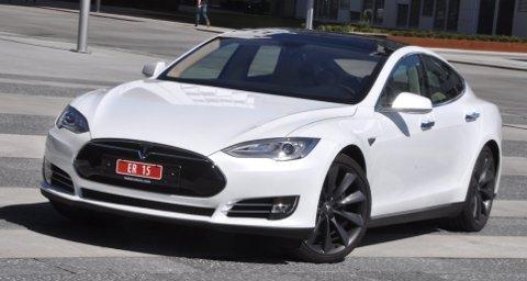 E-bilen Tesla vil nå få egen forhandler i Rygge.