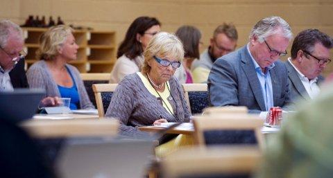 Fylkesvaraordfører Britt Homstvedt (Frp) fremmet forslaget om at godtgjøringen til fylkesordføreren til enhver tid skal utgjøre 80 prosent av statsrådslønn. Det ble vedtatt med stemmene til Frp, Høyre og KrF.